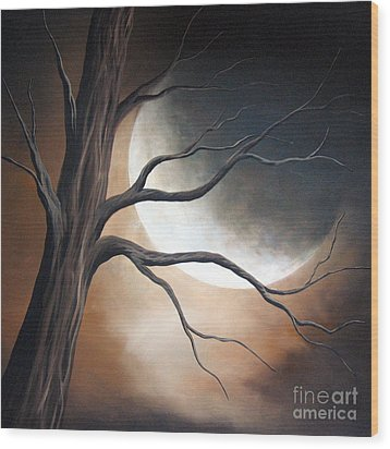 Lost In Your Beauty By Shawna Erback Wood Print by Shawna Erback