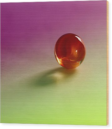 Lost Marbles  Wood Print by Tom Druin