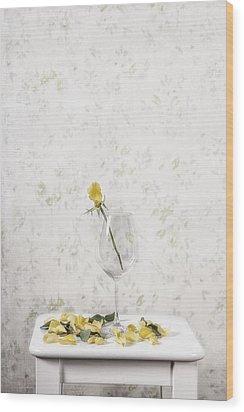 Lost Petals Wood Print by Joana Kruse