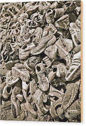 Lost Souls Wood Print by Charles Dobbs