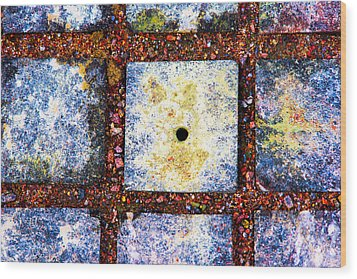 Lot Number 4 Of The Universe Wood Print by Alexander Senin