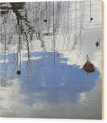 Lotus Arabesque Wood Print by Viktor Savchenko