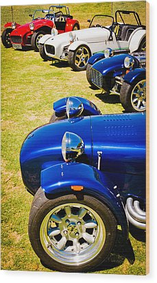 Lotus Seven Wood Print by Phil 'motography' Clark