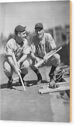 New York Yankees  Wood Print by Retro Images Archive