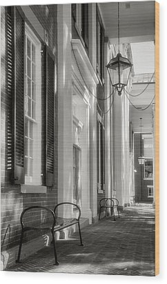 Loudon County Courthouse I Wood Print by Steven Ainsworth
