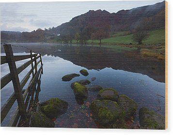 Loughrigg Tarn Wood Print