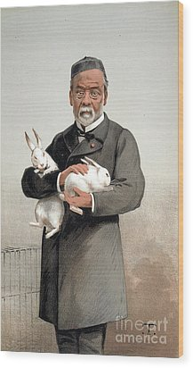 Louis Pasteur Wood Print by Granger