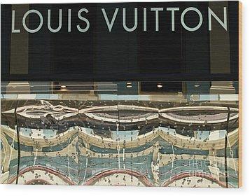 Louis Vuitton Wood Print