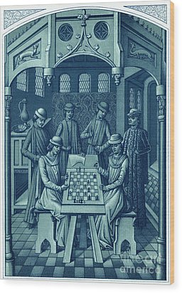 Louis Xi Wood Print by Granger