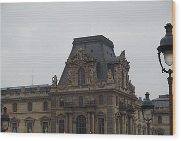 Louvre - Paris France - 011321 Wood Print by DC Photographer