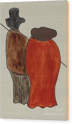 Love And Marriage Wood Print by Bill OConnor