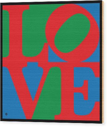 Love Wood Print by Gary Grayson