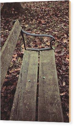 Love In B Minor Wood Print by Odd Jeppesen