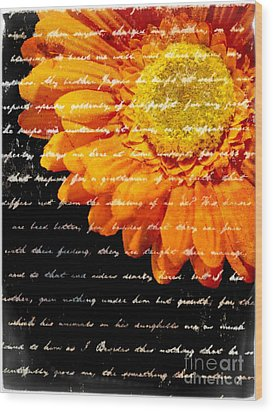 Love Letters Wood Print by Edward Fielding