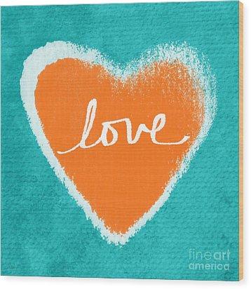 Love Wood Print by Linda Woods