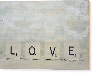 Love Spell Wood Print by Sofia Walker