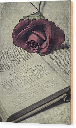 Love Stories Wood Print by Joana Kruse