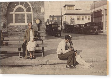 Wood Print featuring the photograph Love Waits by Ron Crabb