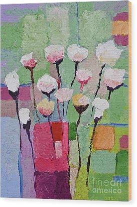 Lovely Flowers Wood Print by Lutz Baar