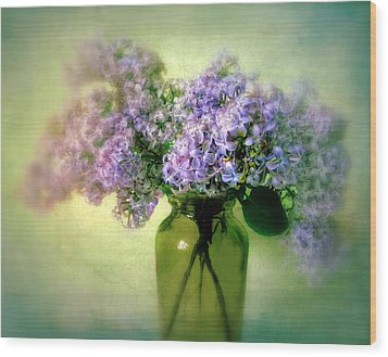 Lovely Lilac  Wood Print