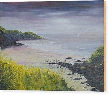 Lovers Cove Kinsale   Wood Print