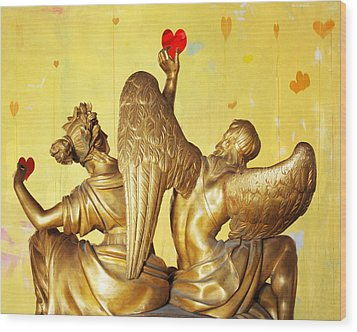Love's Angel  C2014 Wood Print by Paul Ashby