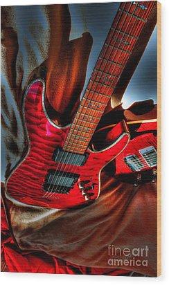 Loving Red By Steven Langston Wood Print by Steven Lebron Langston