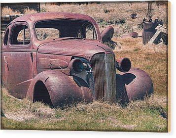 Wood Print featuring the photograph Low Rider by Steven Bateson