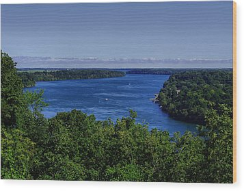 Lower Niagara River Wood Print