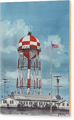 Lubbock Army Airfield Texas Wood Print