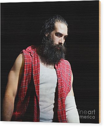 Luke Harper Wood Print