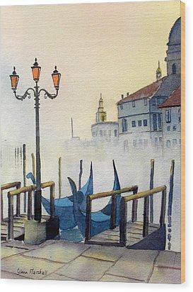 Lumi Di Candelbro Wood Print