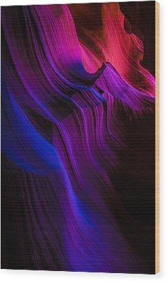 Luminary Peace Wood Print by Chad Dutson
