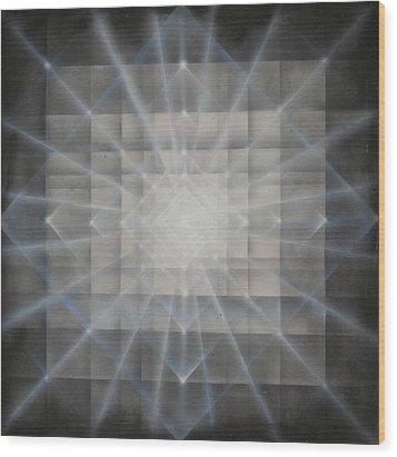 Luminocity Wood Print by Elizabeth Zaikowski