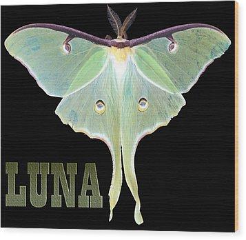 Luna 1 Wood Print by Mim White