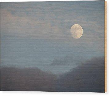 Lunar Wood Print