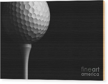 Lunar Golf Wood Print