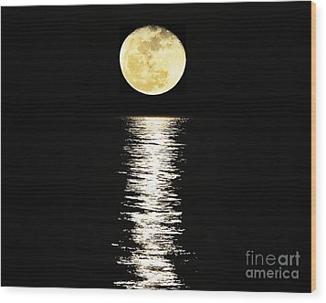 Lunar Lane 03 Wood Print by Al Powell Photography USA