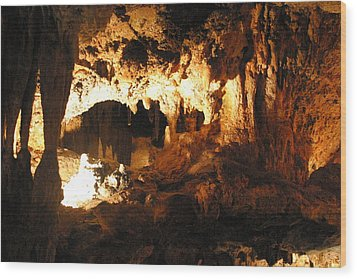 Luray Caverns - 1212162 Wood Print by DC Photographer