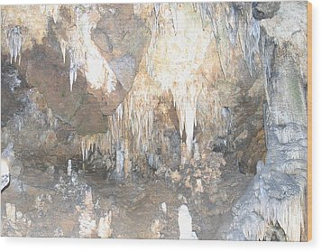 Luray Caverns - 121223 Wood Print by DC Photographer