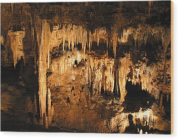 Luray Caverns - 121262 Wood Print by DC Photographer