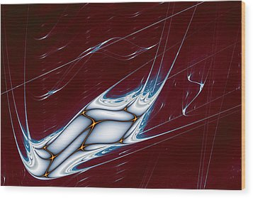 Lyapunov 42 Wood Print by Mark Eggleston
