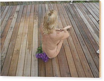 Lynnie 039 Wood Print