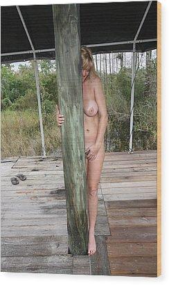 Lynnie 099 Wood Print