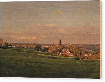 Maastricht Seen From Sint Pieter Wood Print by Nop Briex