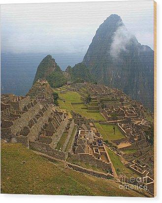 Machu Picchu Wood Print by Mariusz Czajkowski