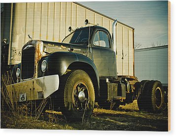Mack  Wood Print by Off The Beaten Path Photography - Andrew Alexander