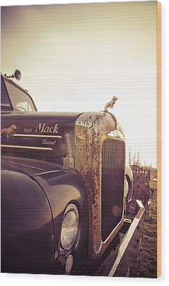 Mack Profile Wood Print by Off The Beaten Path Photography - Andrew Alexander