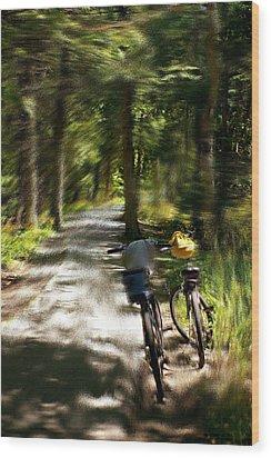 Mackinac Island Woods Wood Print