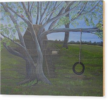 Macon Memories Wood Print